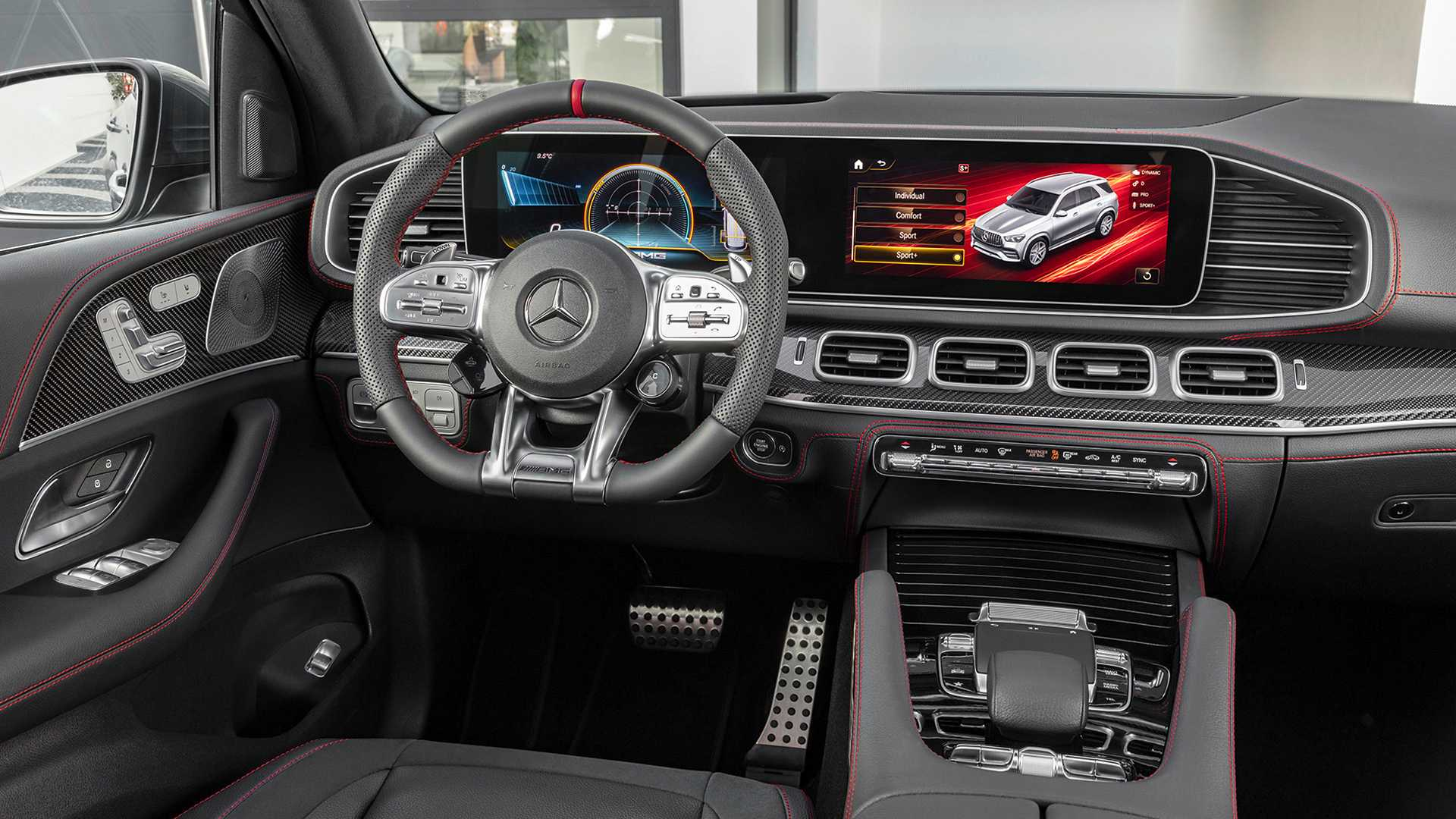 Mercedes-AMG GLE 53 is a performance SUV with seven seats