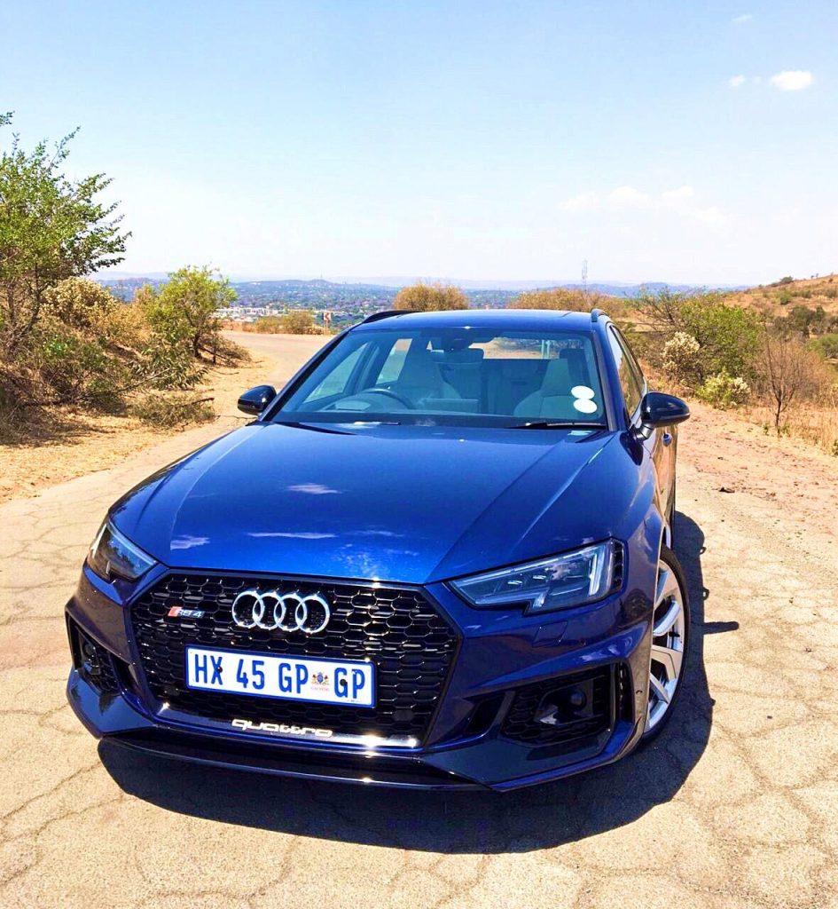 Powerful Audi Rs4 Avant Driven Khulekani On Wheels